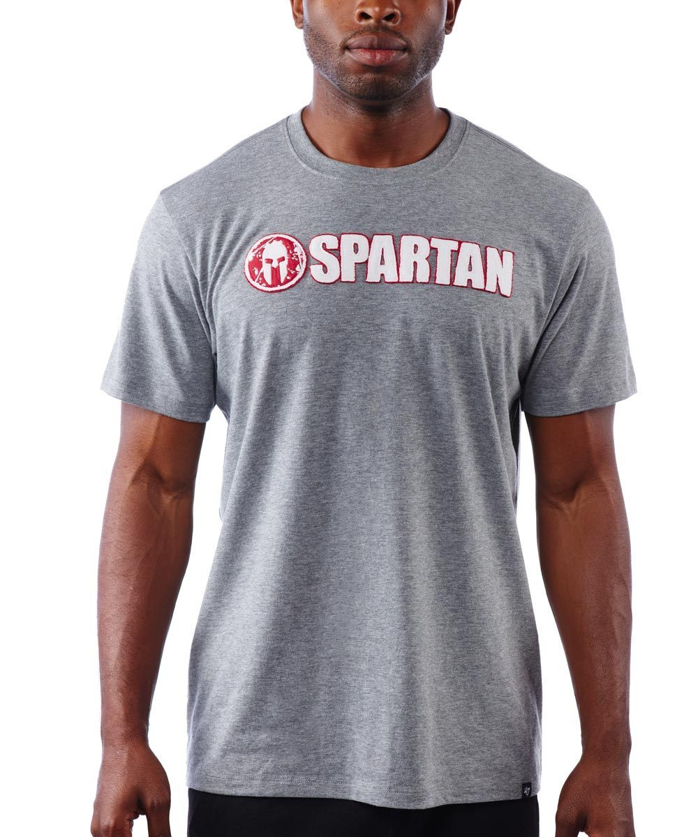 47 Brand SPARTAN '47 Fieldhouse Applique Tee - Men's Slate Gray S