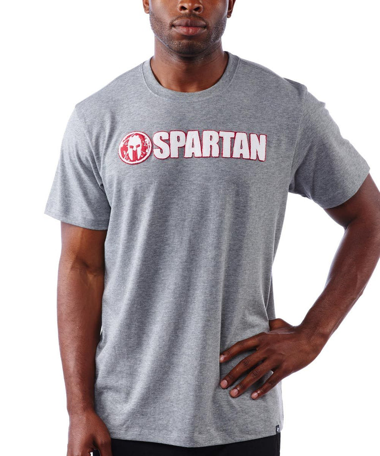 SPARTAN '47 Fieldhouse Applique Tee - Men's