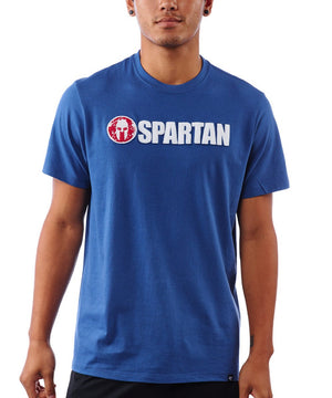 47 Brand SPARTAN '47 Fieldhouse Applique Tee - Men's Royal Blue S