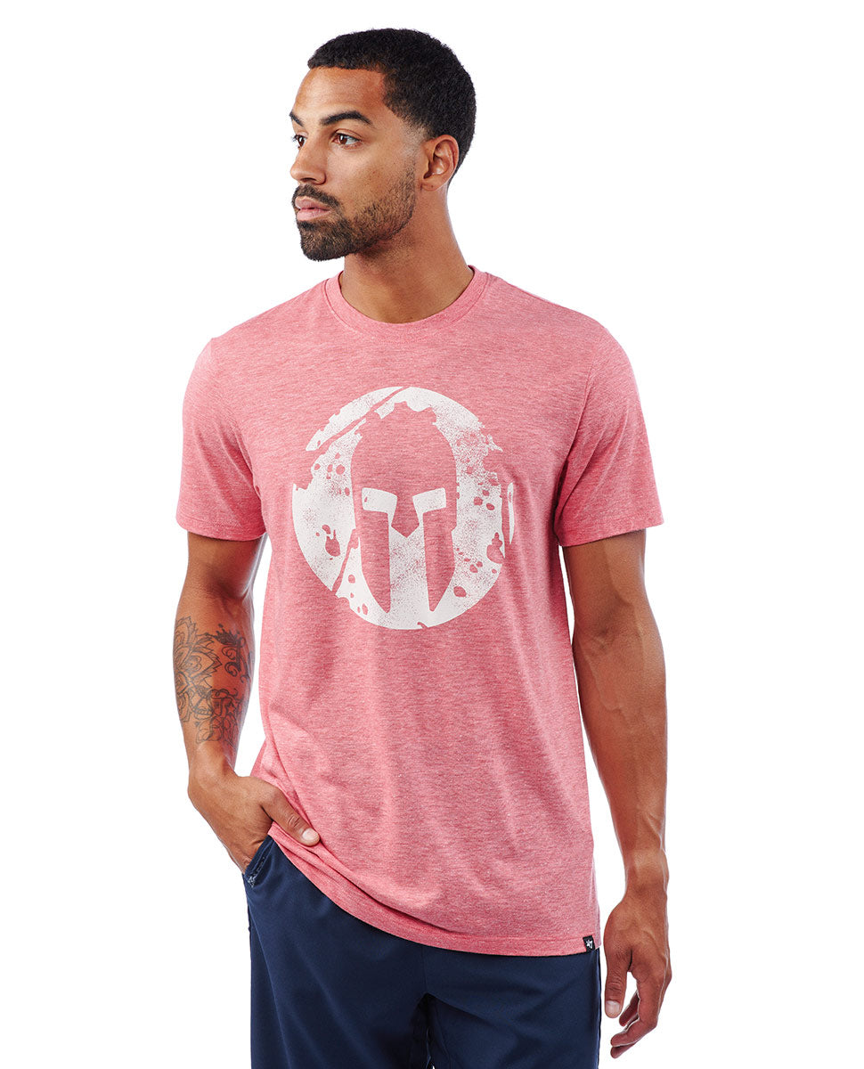 SPARTAN '47 Distressed Imprint Tee
