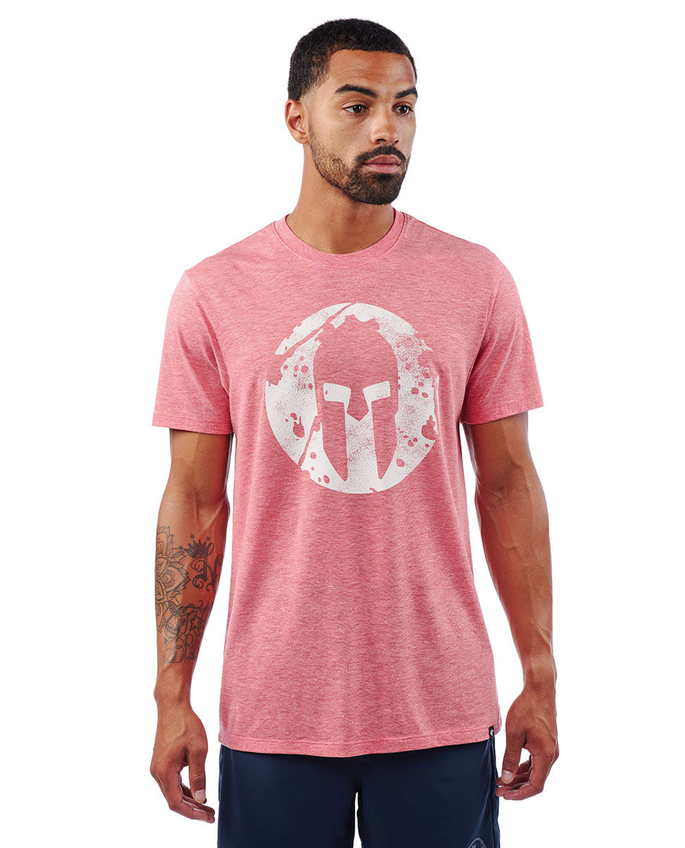 SPARTAN '47 Distressed Imprint Tee - Men's