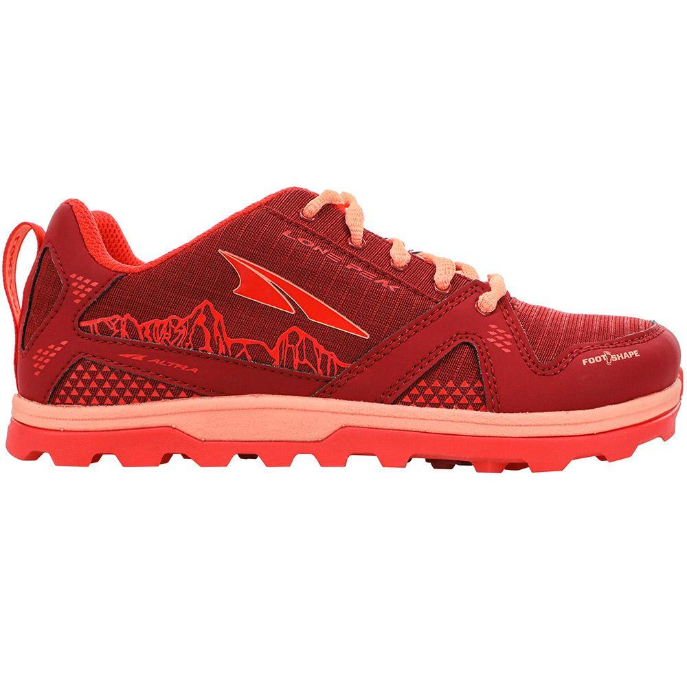 Altra Altra Lone Peak Trail Shoe - Youth Poppy 1