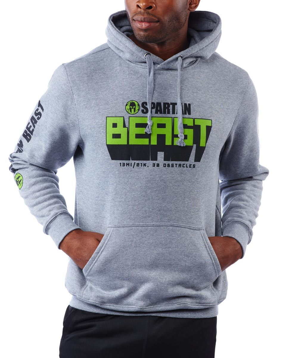 CRAFT SPARTAN By CRAFT Beast Hoodie - Men's Gray S