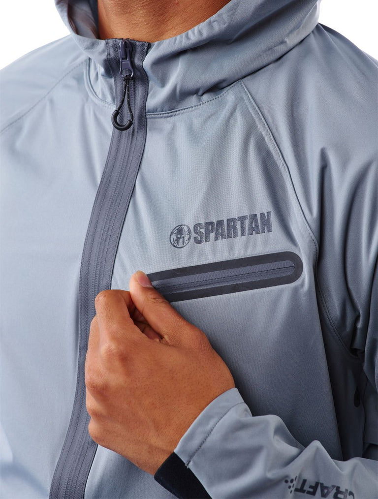 SPARTAN by CRAFT Urban Run Hydro Jacket - Men's