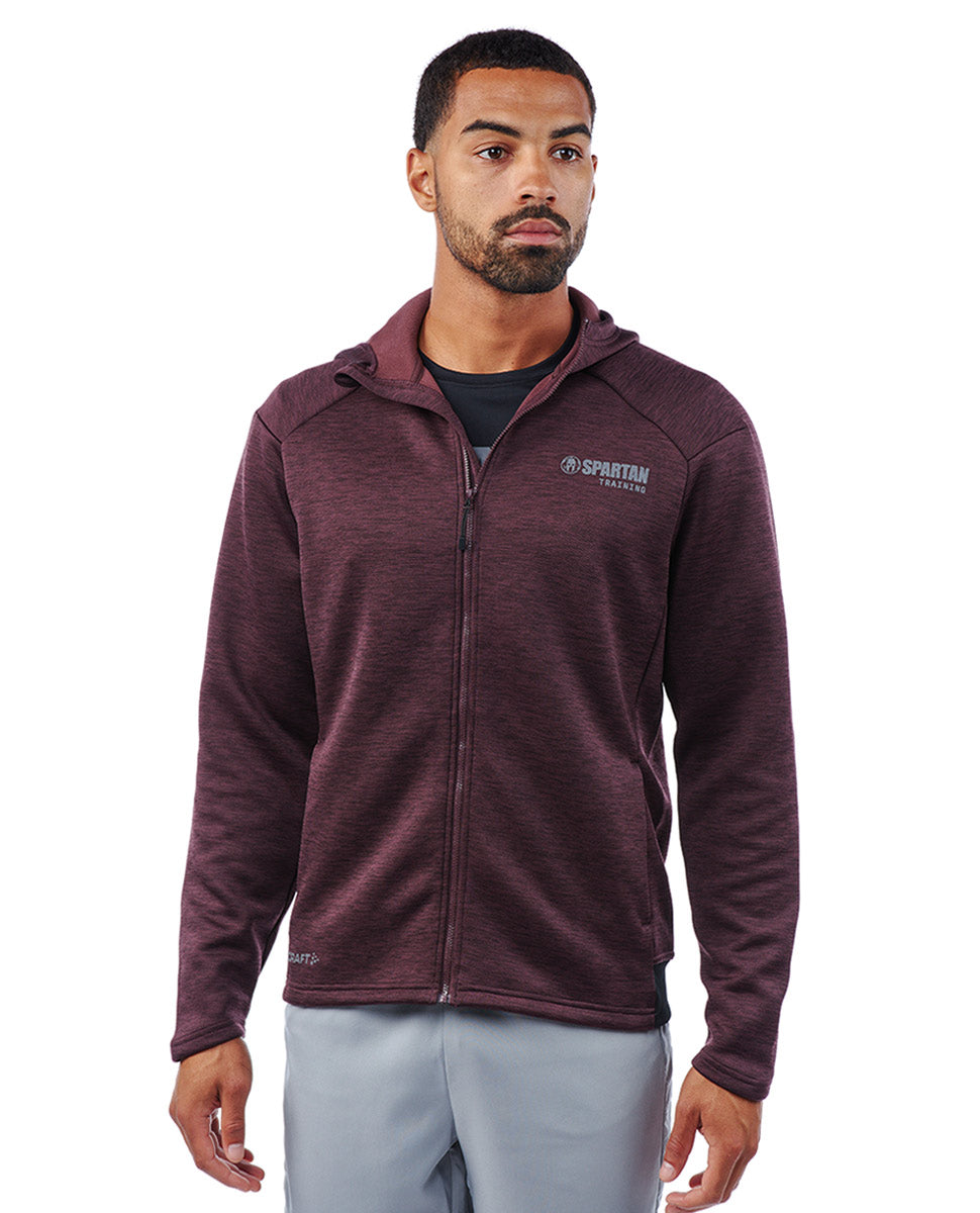 SPARTAN by CRAFT Adv Charge Zip Hood Jacket - Men's