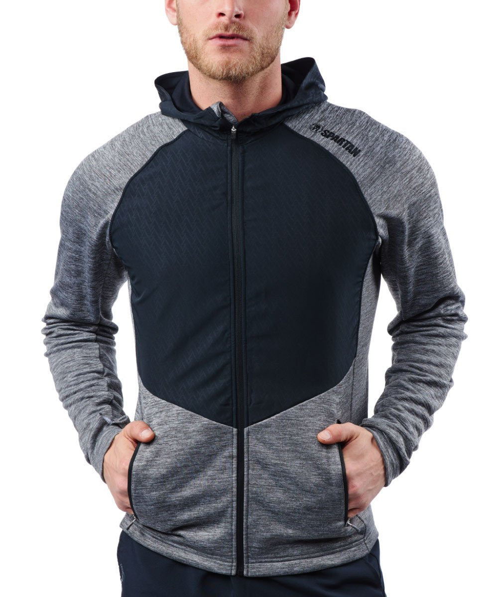CRAFT SPARTAN By CRAFT Charge FZ Sweat Hood Jacket - Men's Monument S