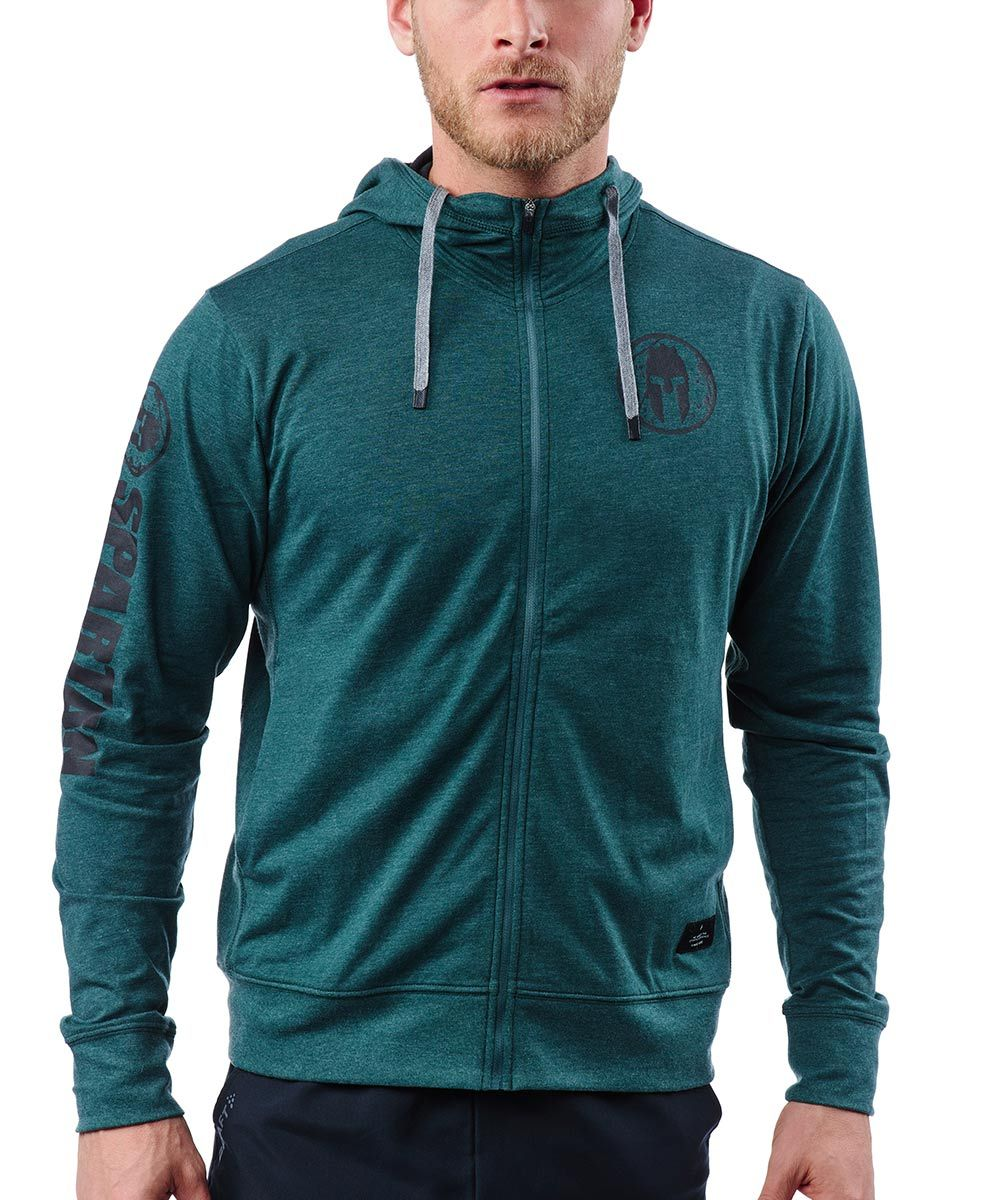 CRAFT SPARTAN By CRAFT Deft Jersey FZ Hood - Men's Pine S