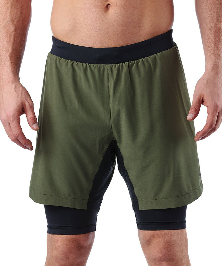 CRAFT SPARTAN By CRAFT Pro Series 2-in-1 Short - Men's Woods S