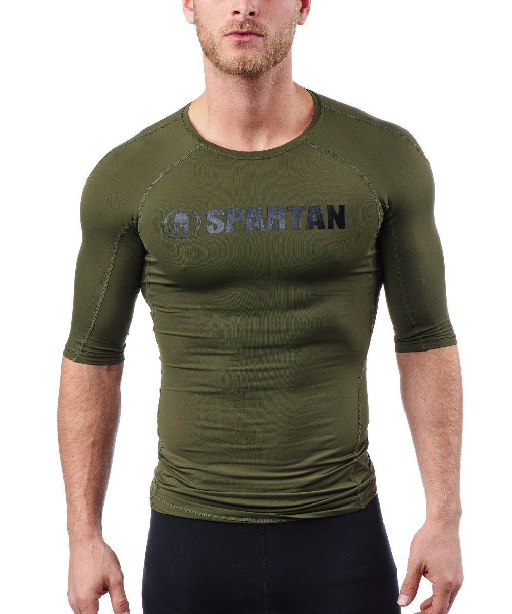 CRAFT SPARTAN By CRAFT Pro Series Compression SS Top - Men's Woods S
