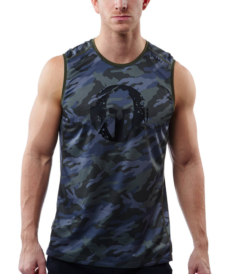 CRAFT SPARTAN By CRAFT Pro Series Grit Tank - Men's Woods Camo S