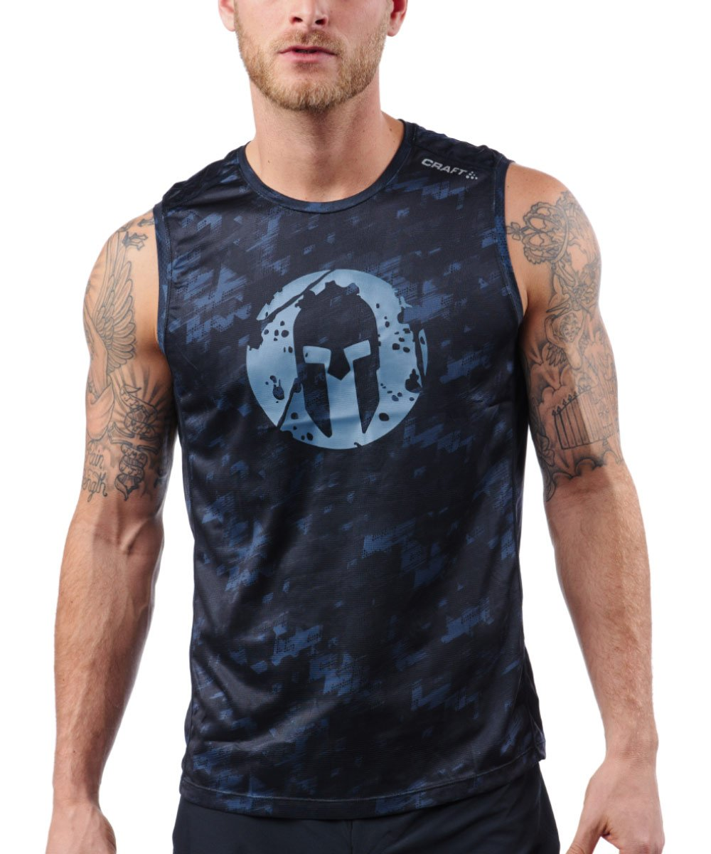 CRAFT SPARTAN By CRAFT Pro Series Grit Tank - Men's Print S