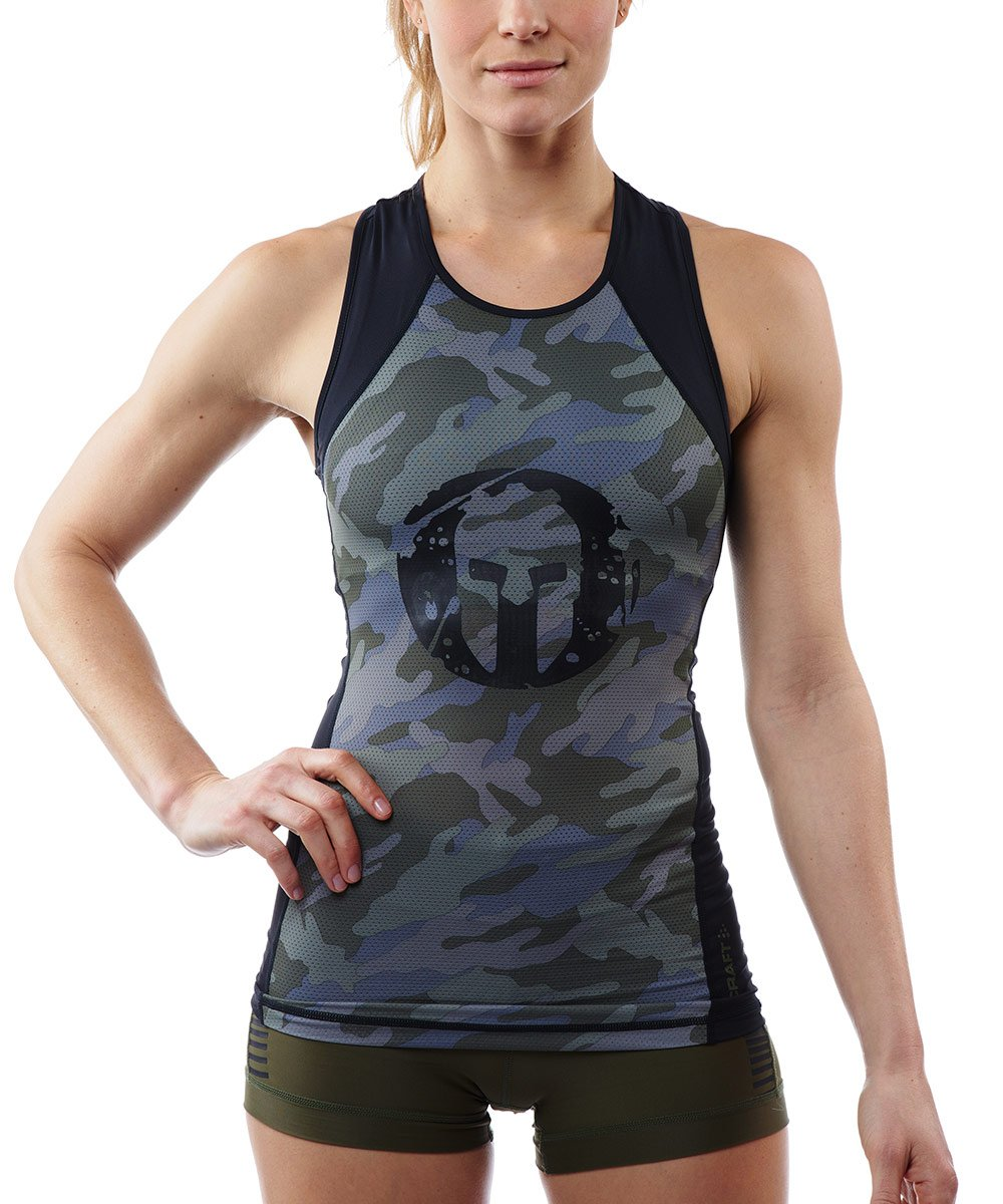 CRAFT SPARTAN By CRAFT Pro Series Tank Top - Women's Woods Camo XS