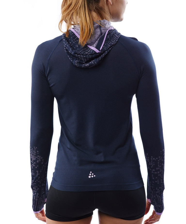SPARTAN by CRAFT Core Fuseknit LS Hood - Women's