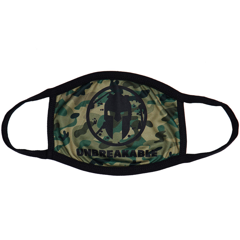 Spartan Shop SPARTAN Face Mask Green Camo