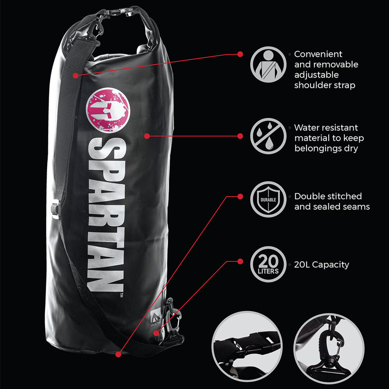 Franklin SPARTAN By Franklin Dry Bag Black