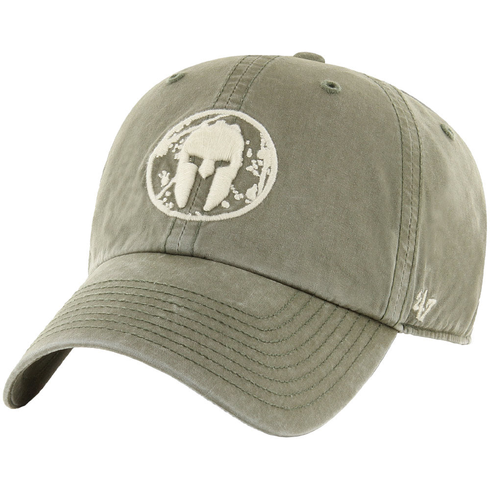 47 Brand SPARTAN '47 Hudson Clean Up Hat - Unisex Moss Green