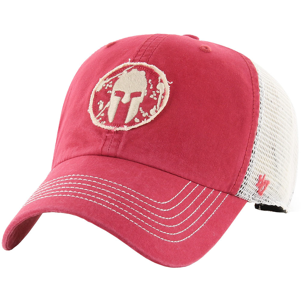 47 Brand SPARTAN '47 Hudson Mesh Clean Up Hat - Unisex Red
