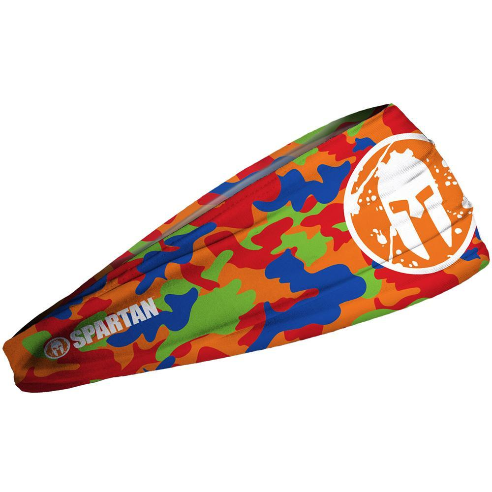 JUNK SPARTAN JUNK Headband - Camo Orange Kids Camo Orange
