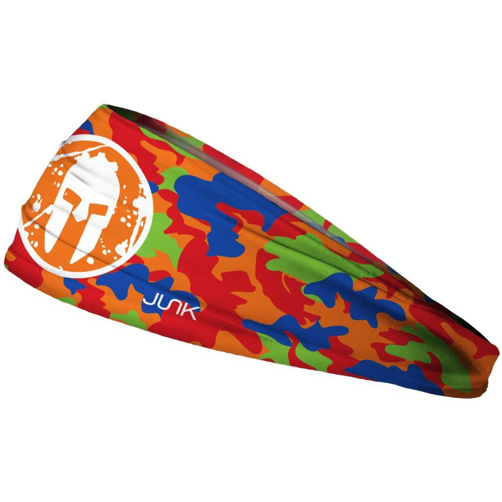 SPARTAN JUNK Headband - Camo Orange Kids'