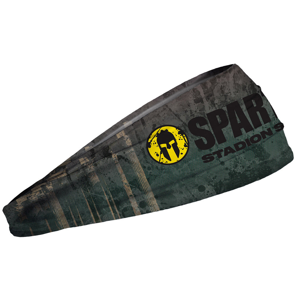 JUNK SPARTAN JUNK Headband - Stadion Series 2020 Green/Brown