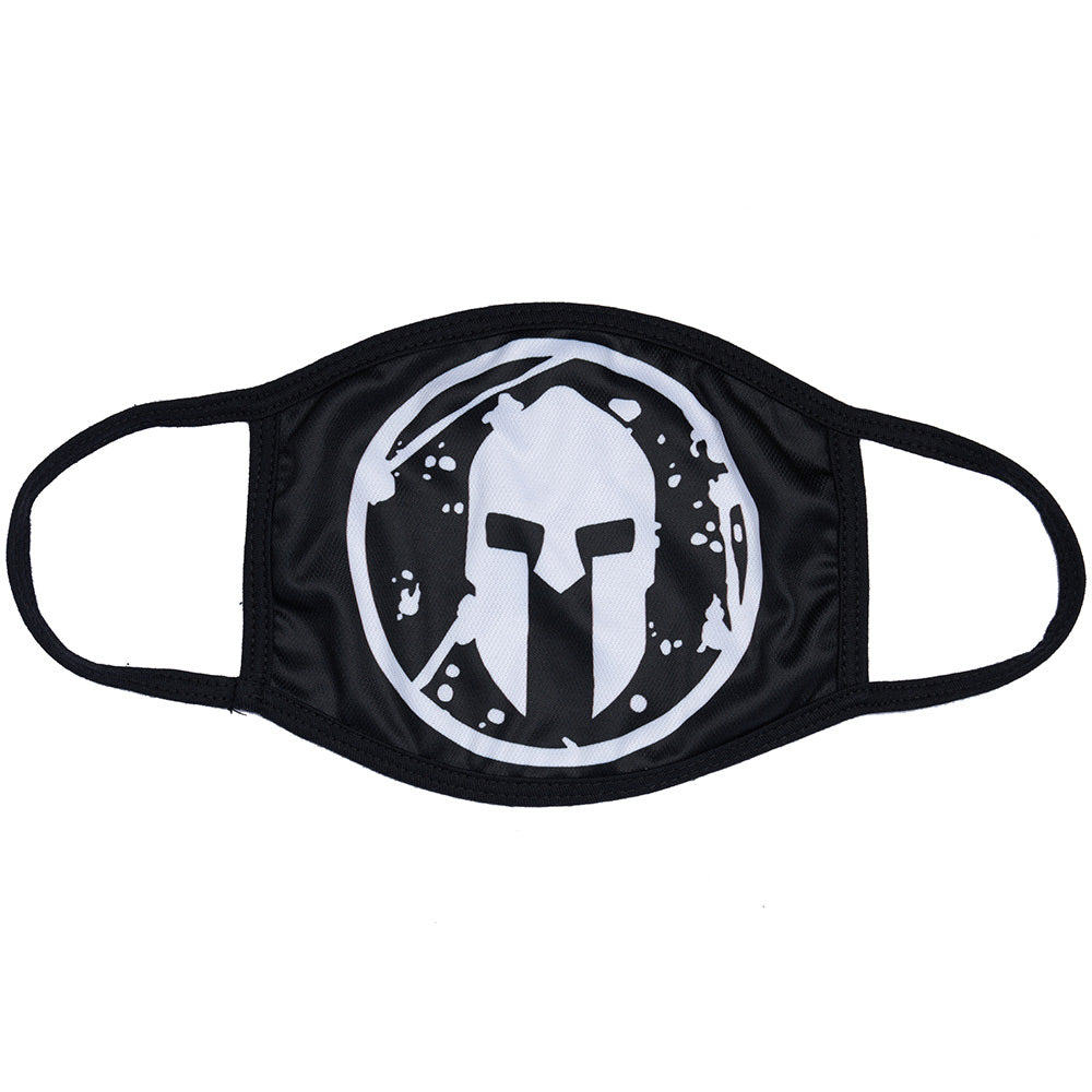 Spartan Shop SPARTAN Face Mask Black Helmet