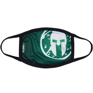 Spartan Race Shop SPARTAN Face Mask Green Side Helmet