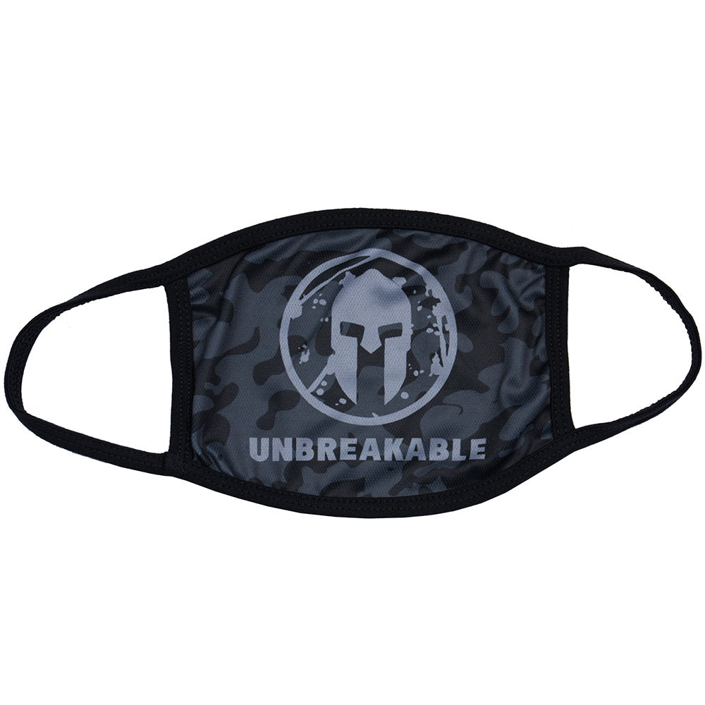 Spartan Shop SPARTAN Face Mask Black Camo