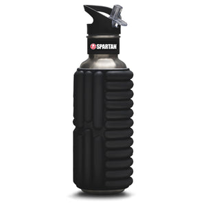 Mobot SPARTAN Mobot Foam Roller Water Bottle Black