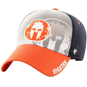 47 Brand SPARTAN '47 Offset MVP Hat - Kids Navy/Orange