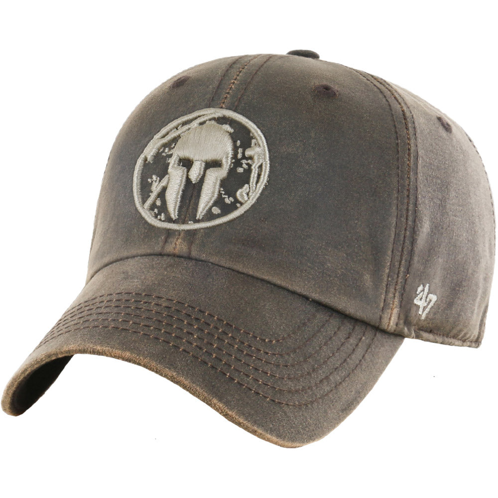 47 Brand SPARTAN '47 Oil Cloth Clean Up Hat - Unisex Brown