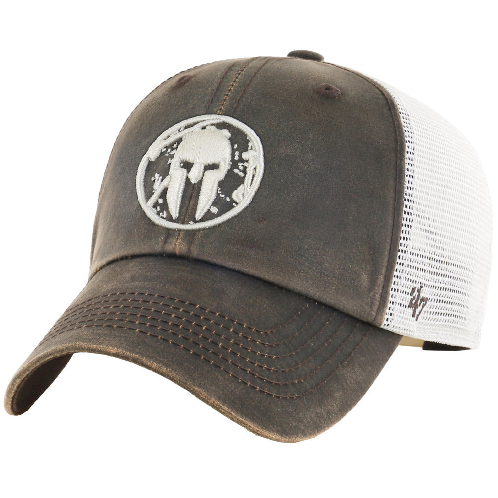 47 Brand SPARTAN '47 Oil Cloth Mesh Clean Up Hat - Unisex Brown