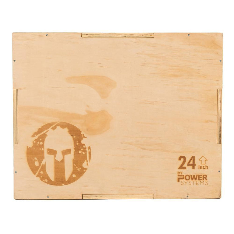SPARTAN 3-in-1 Wooden Plyo Box