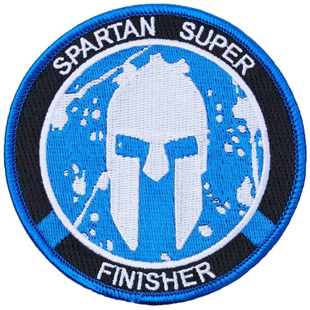 Spartan Race Shop SPARTAN Super Finisher Patch