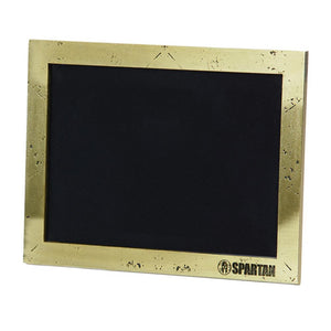 Spartan Race Shop SPARTAN Hammered Gold Picture Frame