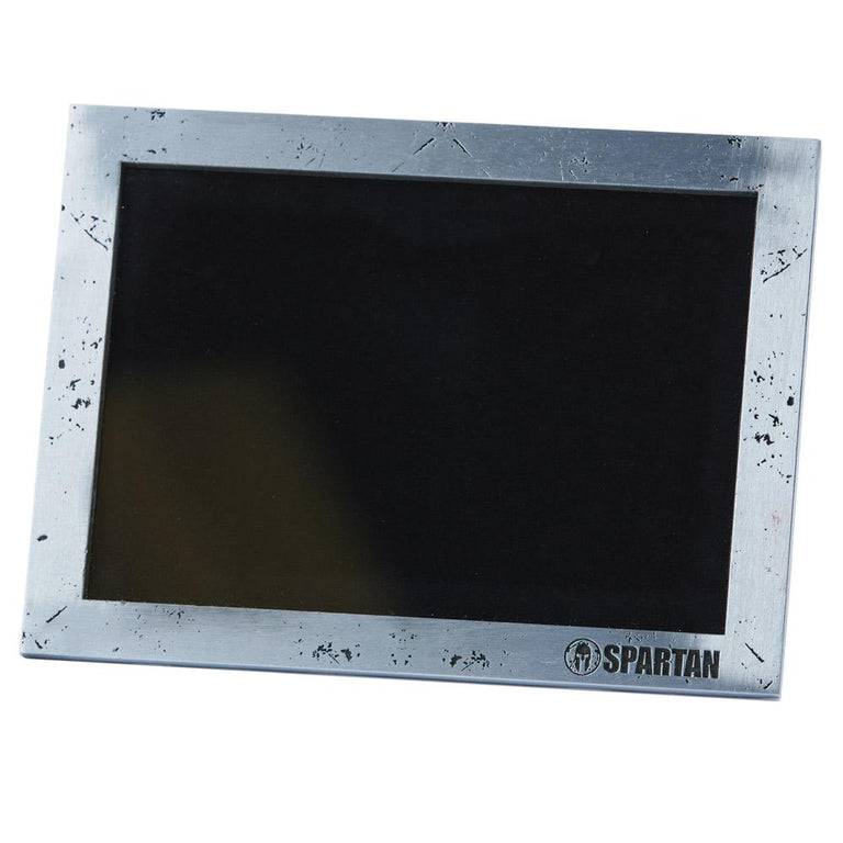 Spartan Race Shop SPARTAN Hammered Silver Picture Frame