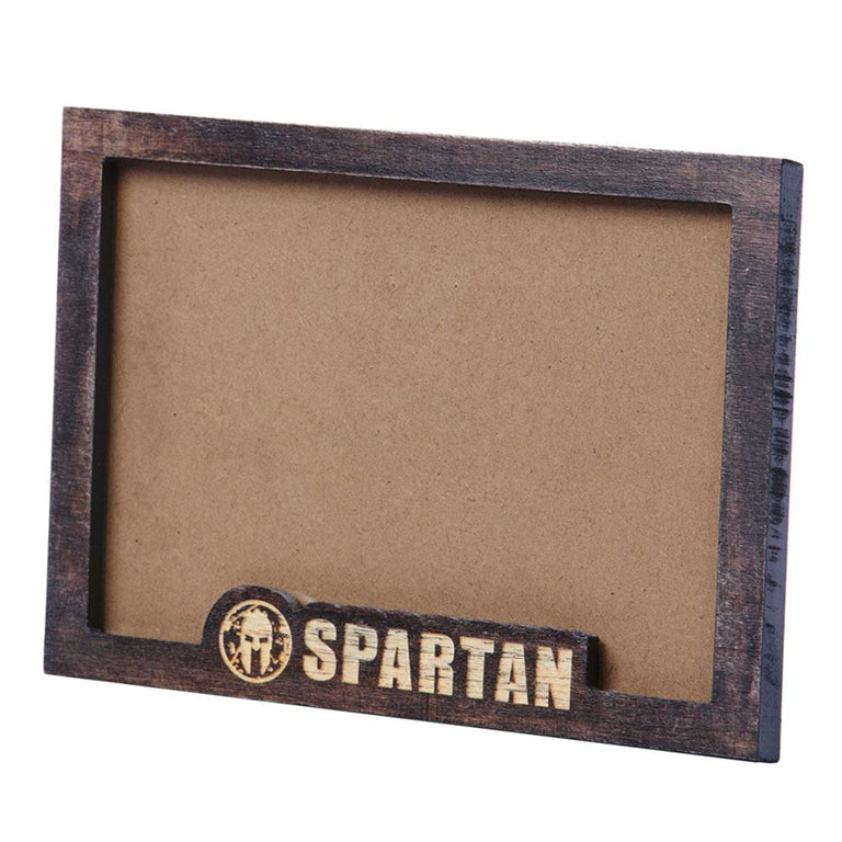 Spartan Race Shop SPARTAN Weathered Wood Picture Frame