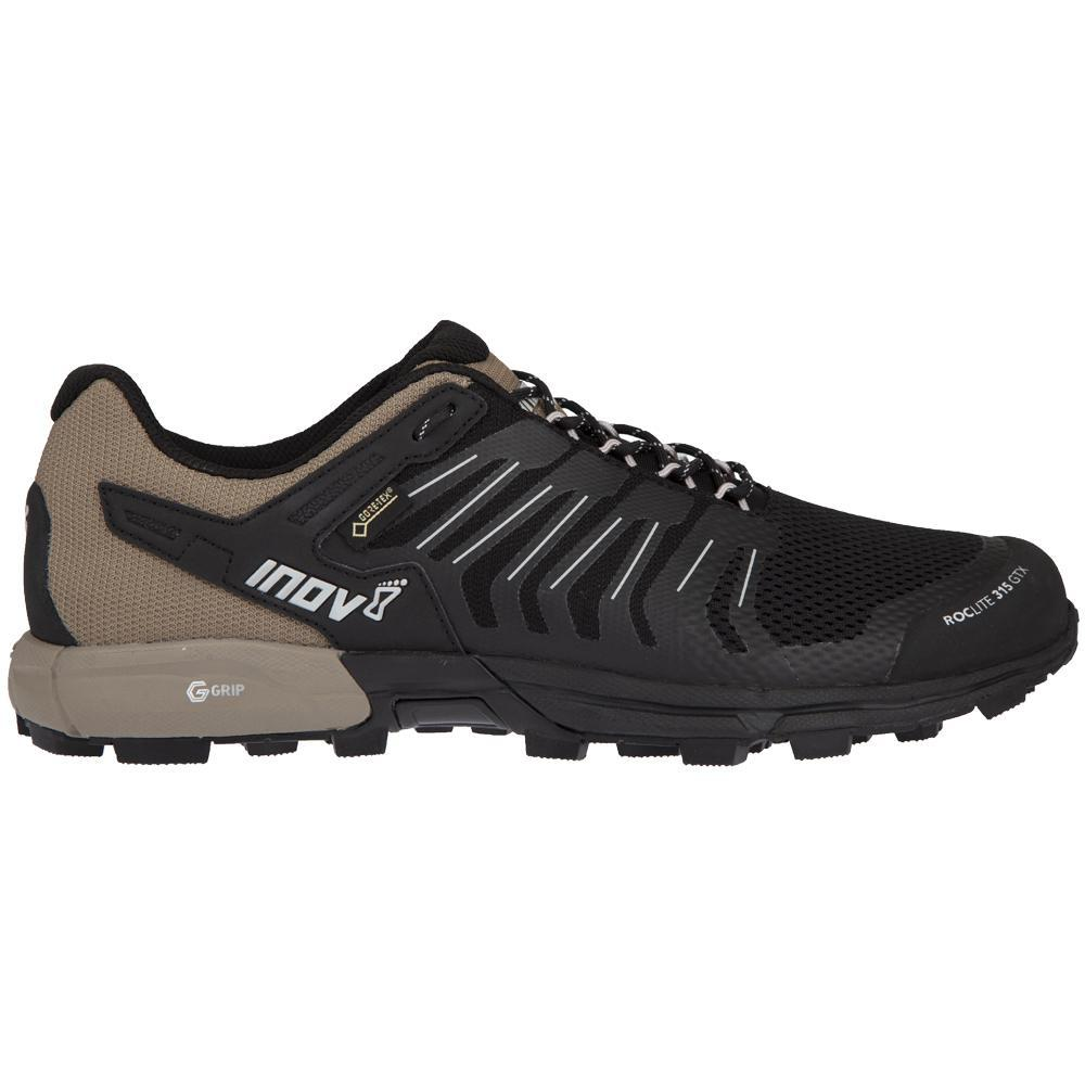 Inov8 Inov-8 Roclite 315 GTX Trail Running Shoe - Men's Black/Brown 8