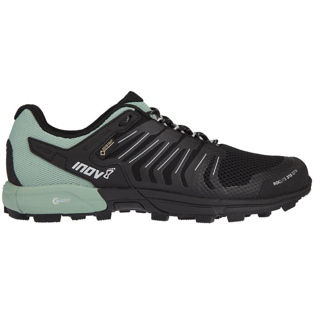 Inov8 Inov-8 Roclite 315 GTX Trail Running Shoe - Women's Black/Green 6