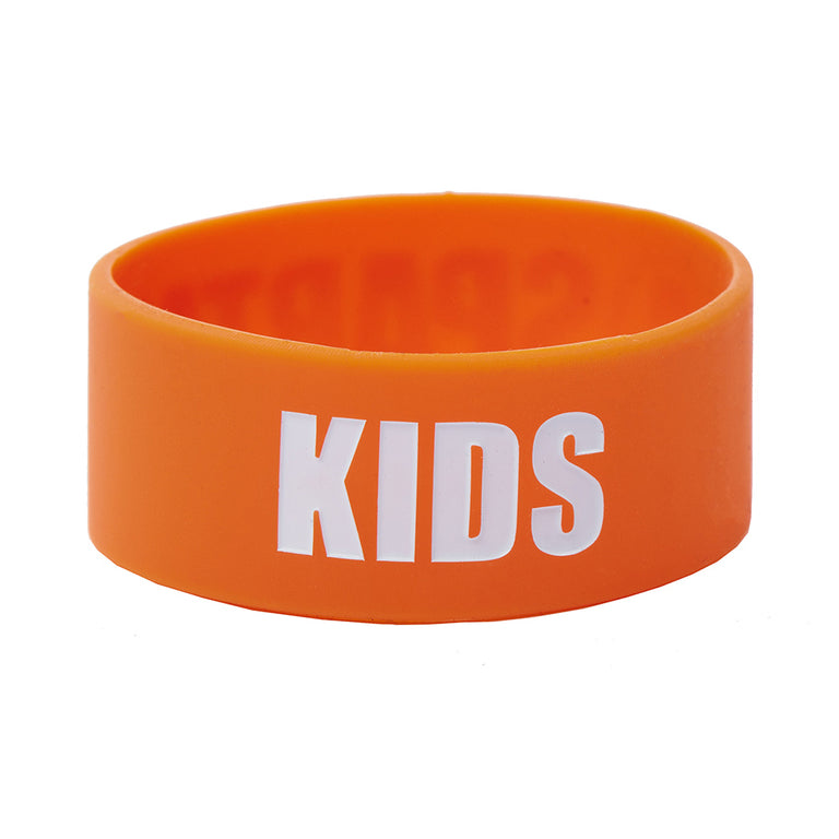 Spartan Race Shop SPARTAN Silicone Bracelet - Kids Orange