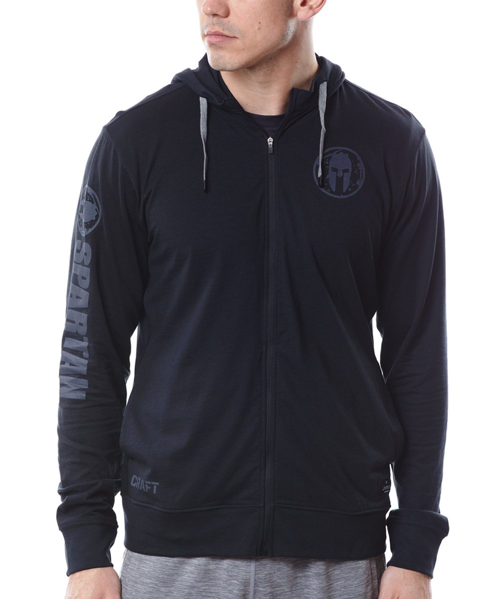 CRAFT SPARTAN By CRAFT Deft Jersey FZ Hood - Men's Black S