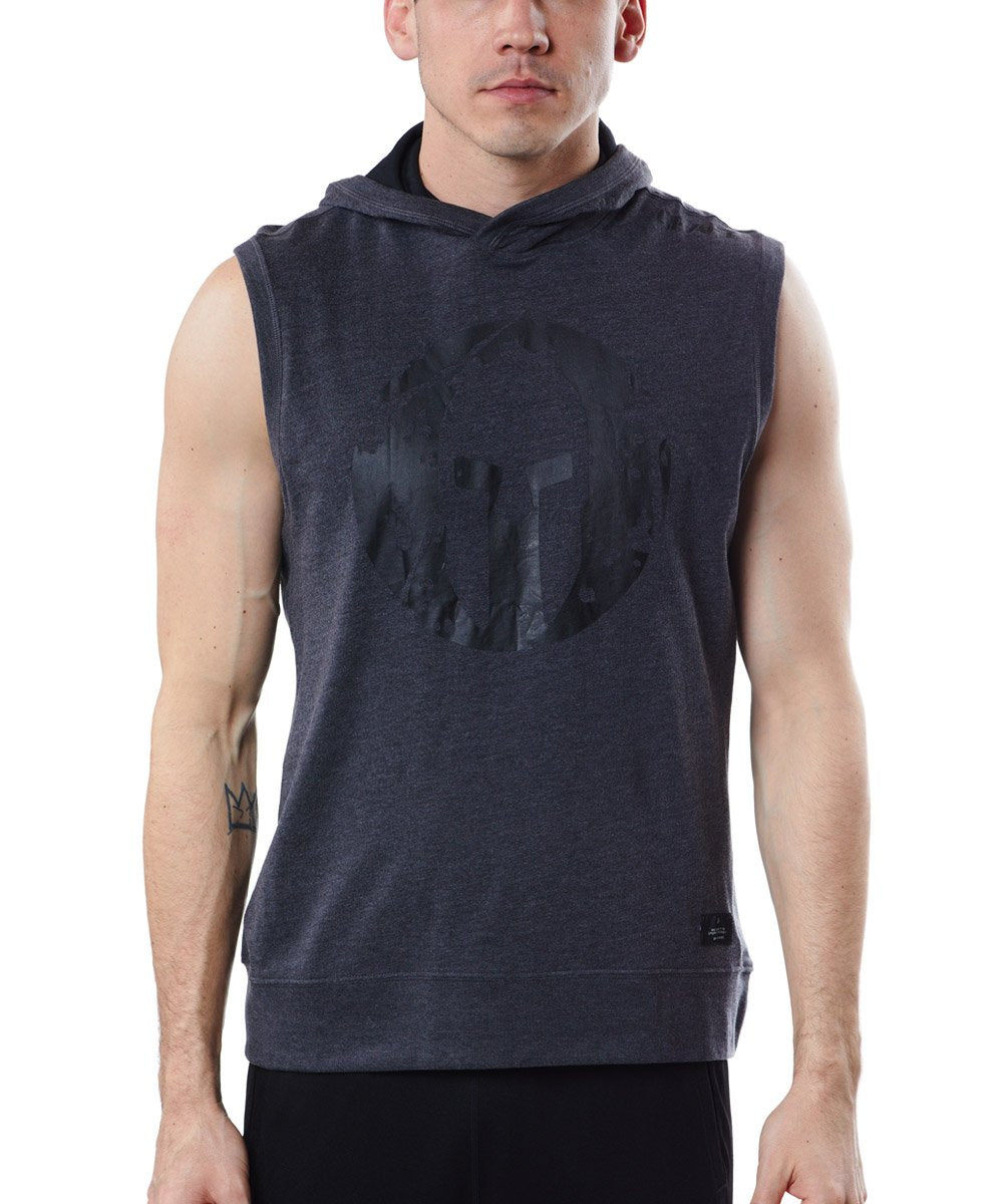 CRAFT SPARTAN By CRAFT Deft Sleeveless Jersey Hood - Men's Dk Gray S