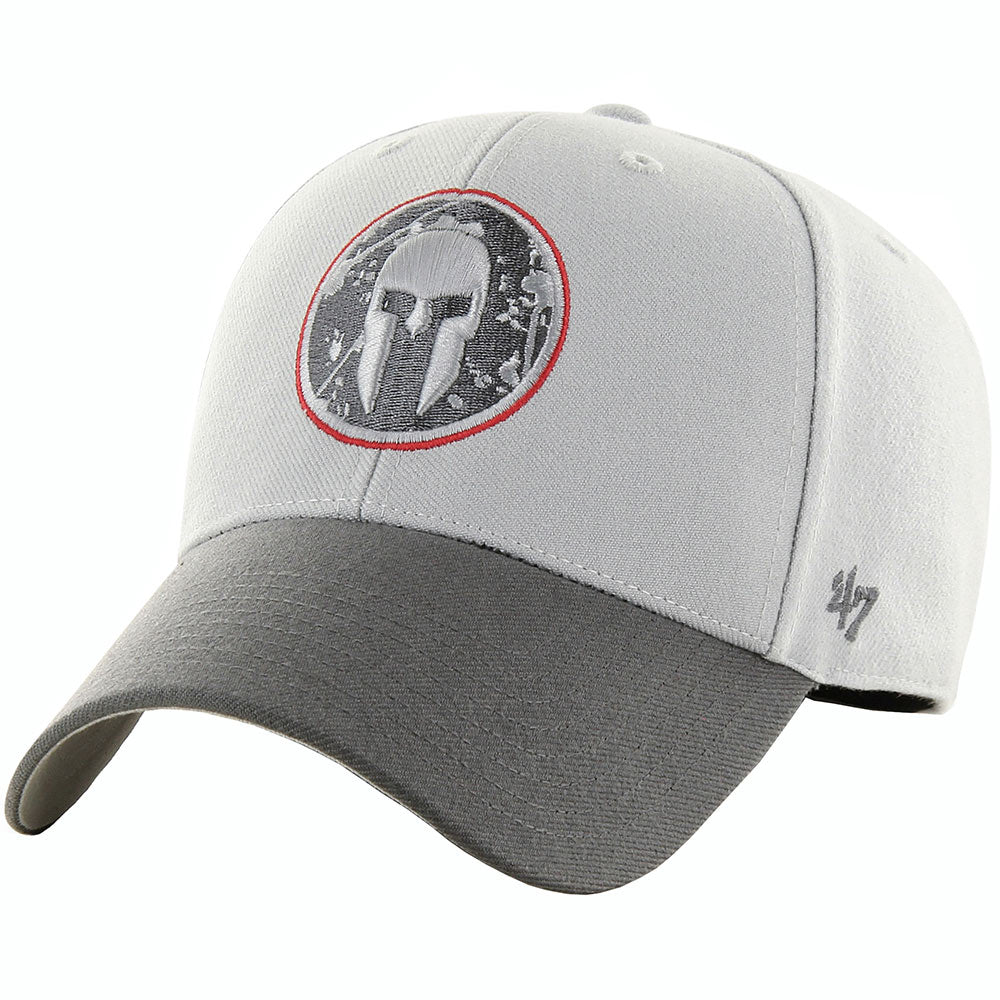 47 Brand SPARTAN '47 Storm Two Tone MVP Hat - Unisex Gray