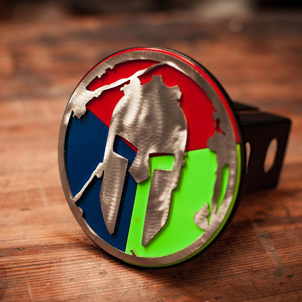 Spartan Race Shop SPARTAN Trifecta Helmet Trailer Hitch