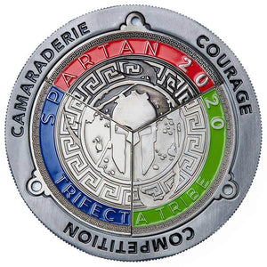 Spartan Race Shop SPARTAN Trifecta Medal Display