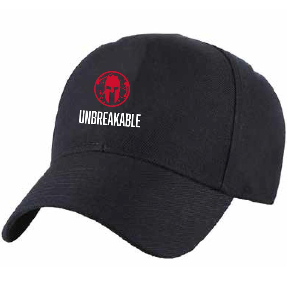 Spartan Race Shop SPARTAN Unbreakable Hat - Unisex Black