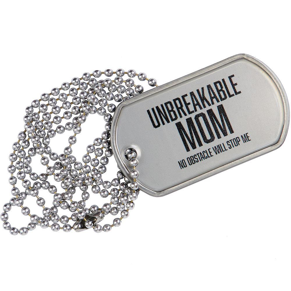 Spartan Race Shop SPARTAN Unbreakable Mom Tag
