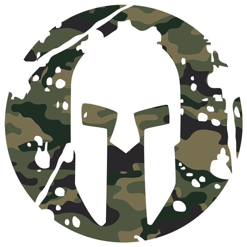 Spartan Race Shop SPARTAN Camo Vinyl Sticker