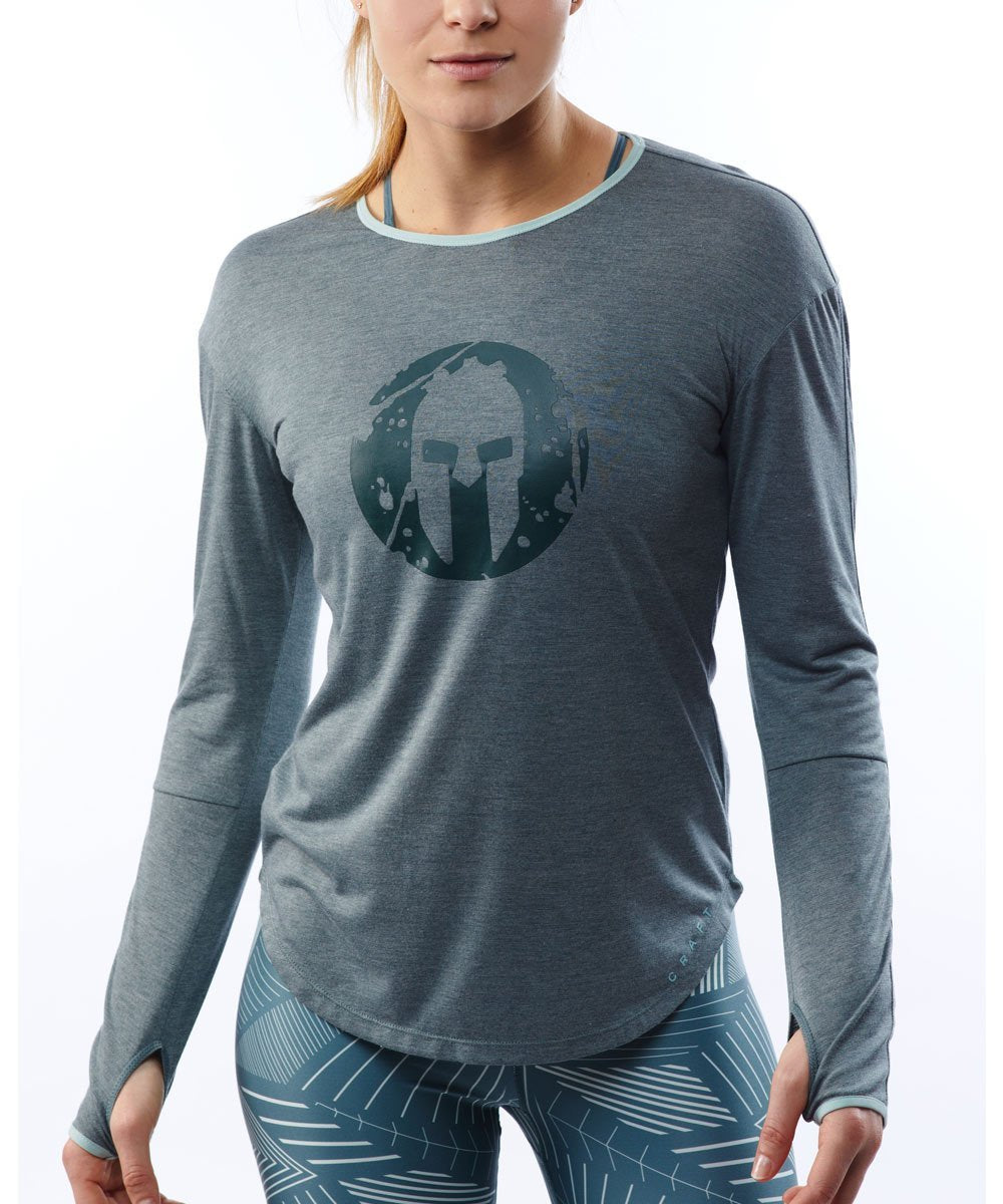 CRAFT SPARTAN By CRAFT Charge LS Soft Tee - Women's Gravity XS