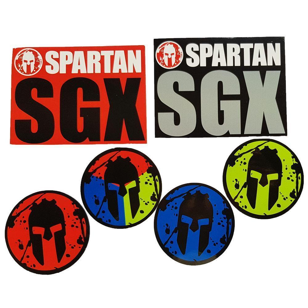 Spartan Race Shop SPARTAN SGX Stickers - 100pk