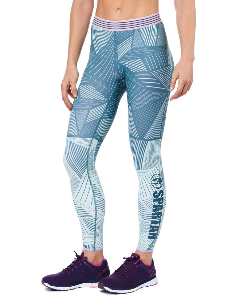 CRAFT SPARTAN By CRAFT Lux Tight - Women's Gravity/Flare XS